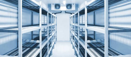 chambre de refroidissement