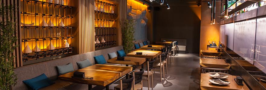 décoration intérieure de restaurants